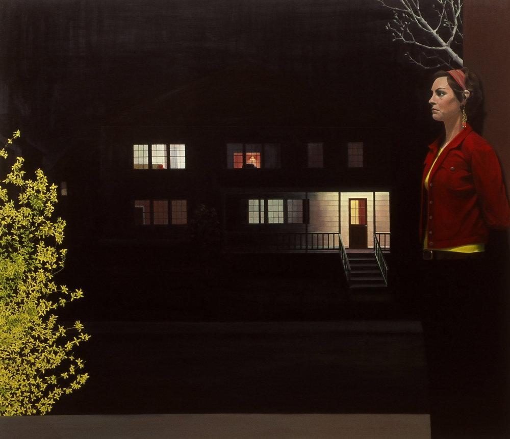 "58 Verndale      72""x84""     2006     oil on canvas"