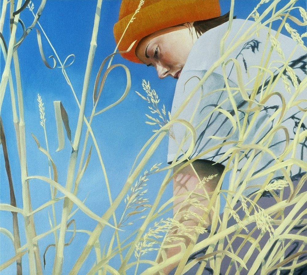 "Hunting Season, Wyoming      18""x20""     2006     oil on canvas"
