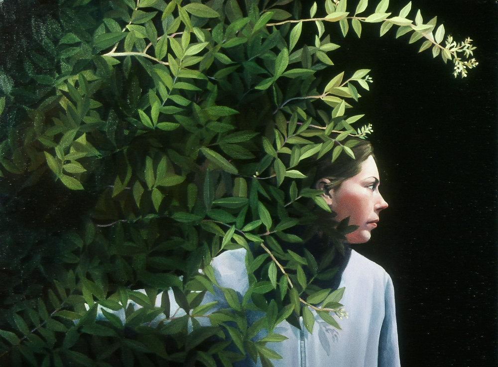"""Night, Weir Farm      18""""x24.5""""     2006     oil on canvas"""