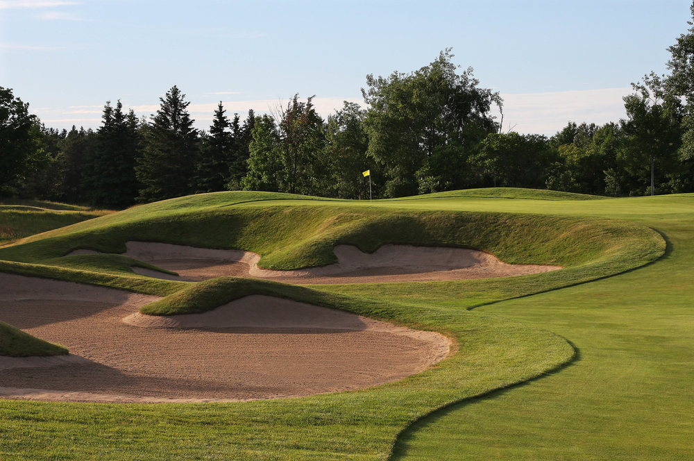 The sixth green (Photo by Claus Andersen)