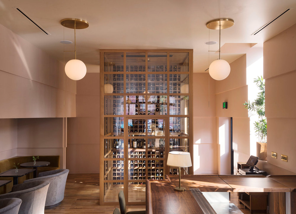 Vintage Wine Bar Downtown Tulsa Oklahoma Dezeen