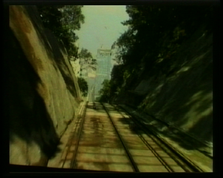 Lowest to Lower  (1999), video still, courtesy of the artist, special thanks to  Videotage