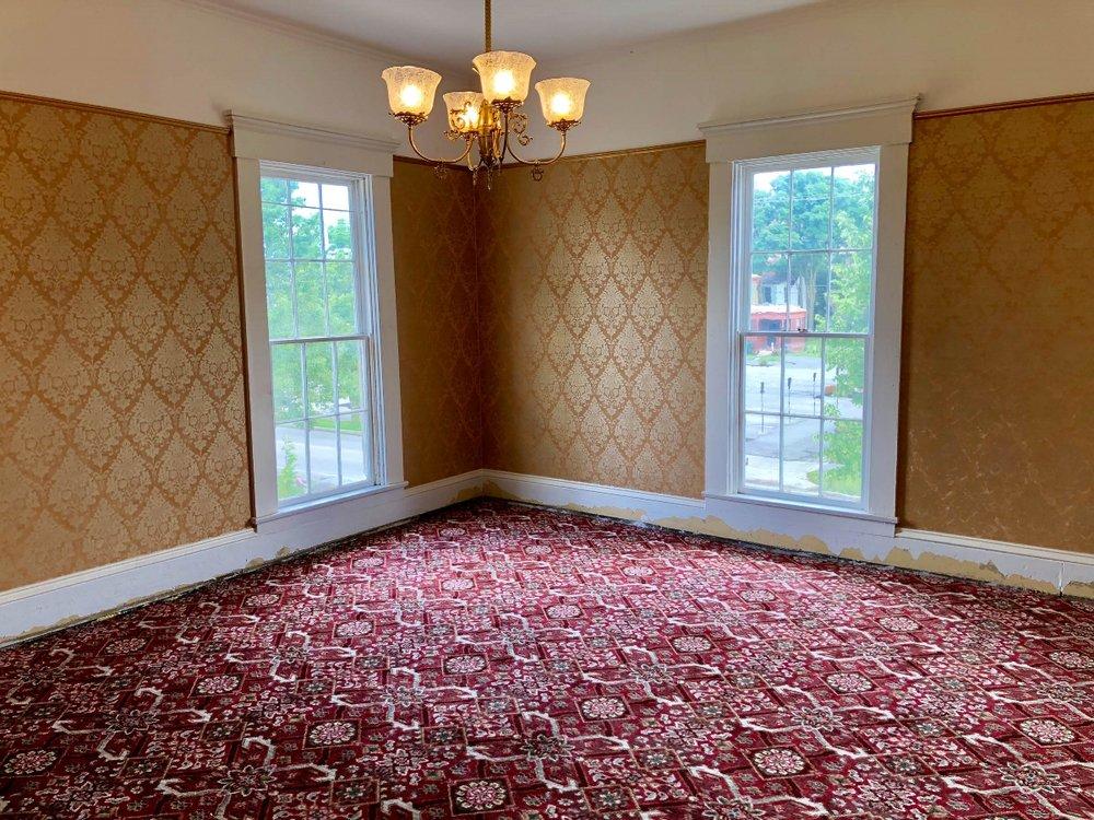 The Neely House New Carpet