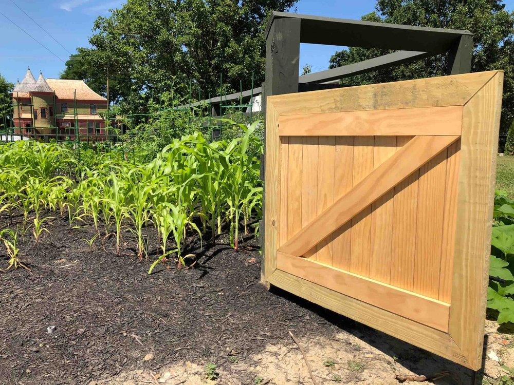Neely House Garden Gate