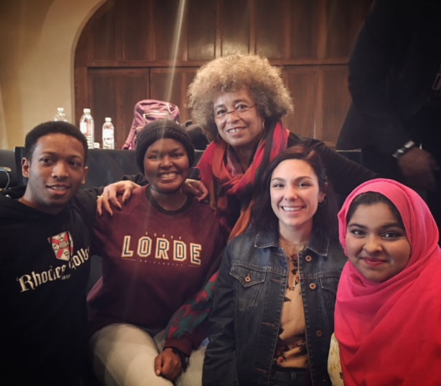 Discussion with Dr. Angela Davis