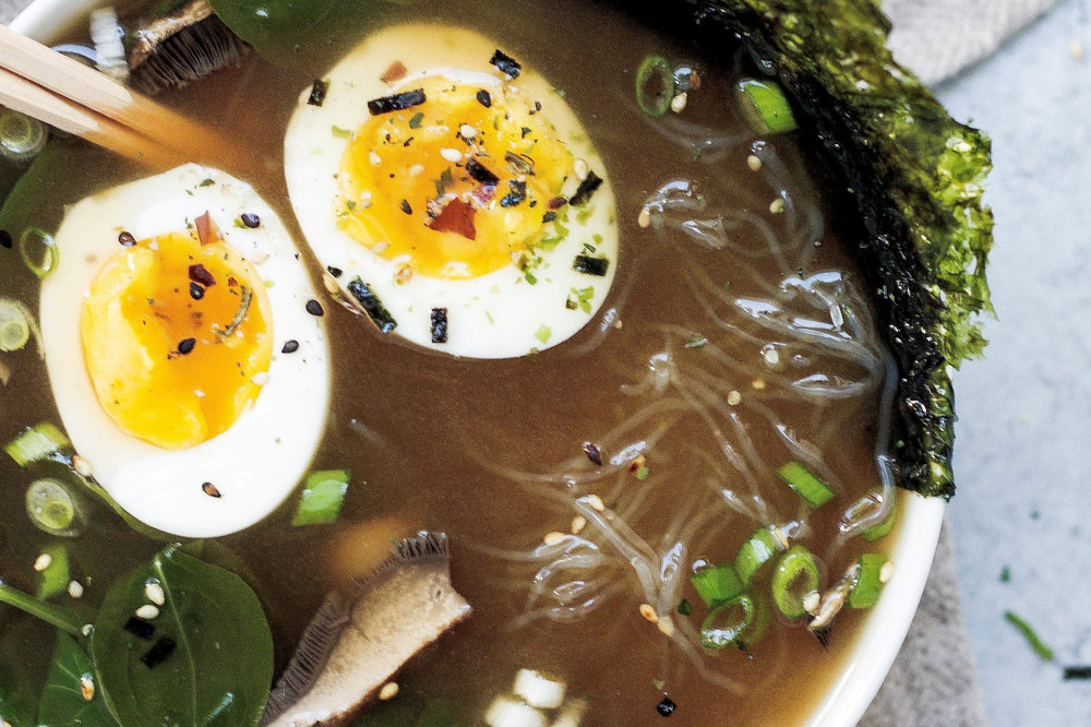 Dulse & Brose Savoury oatmeal with a medicinal miso twist -