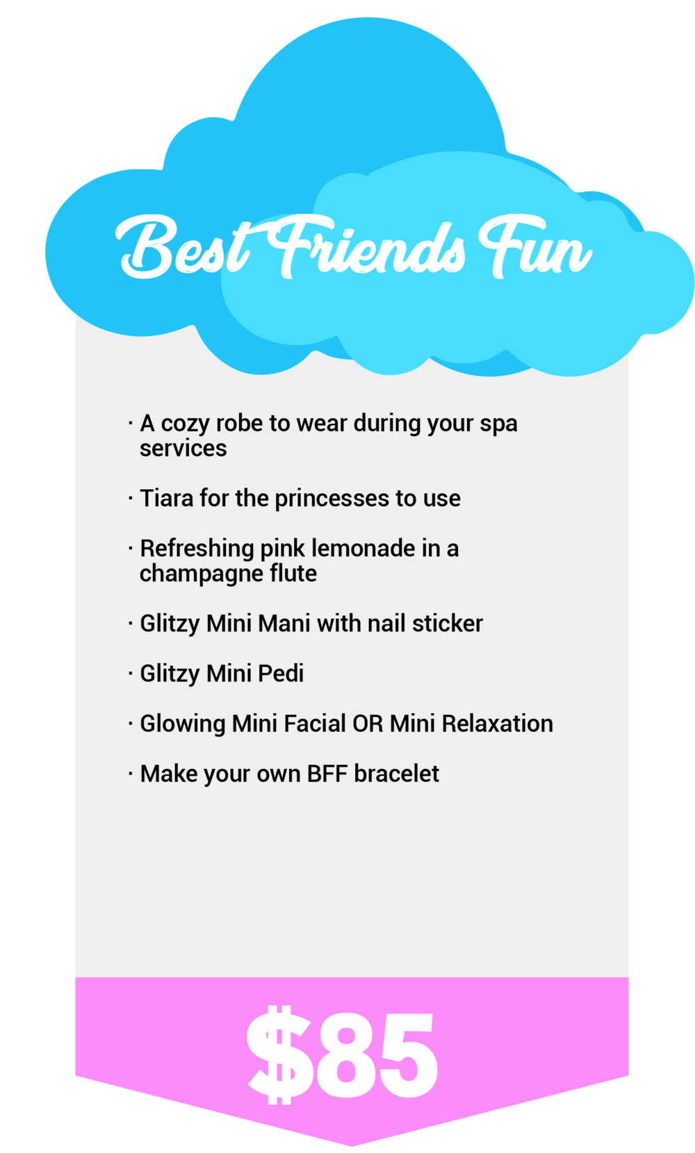 best Friend Fun, Kid spa, kids spa