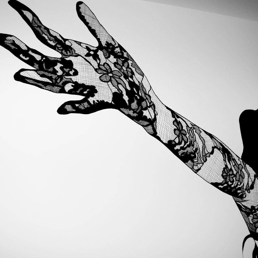 Glove - Ink on Paper