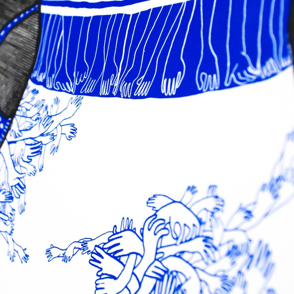 Vessel 1 - 2 colour Silkscreen Print