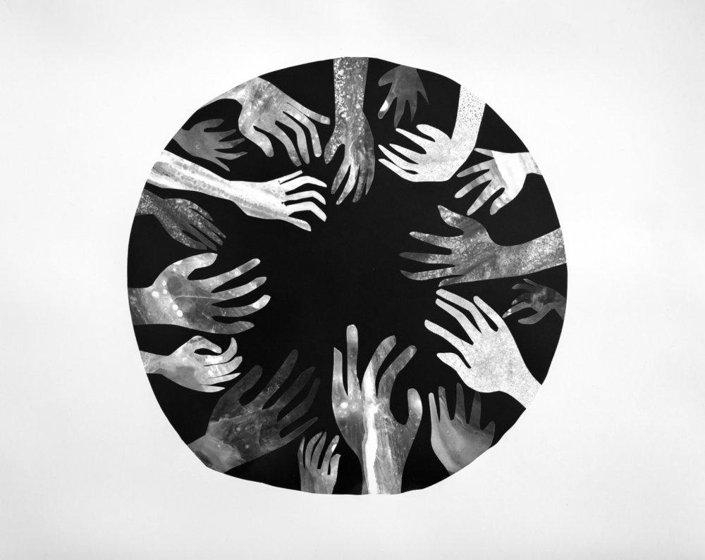 Moon 2018, Silver Gelatin Print