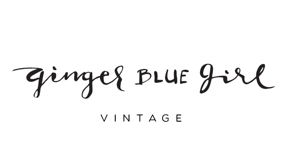 Ginger Blue Girl Vintage