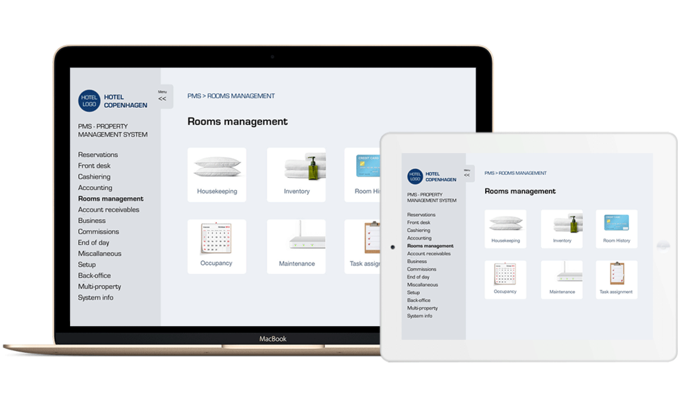 End-to-end management system - Empower your hotel management with a fully integrated end-to-end solution, anywhere, anytime…