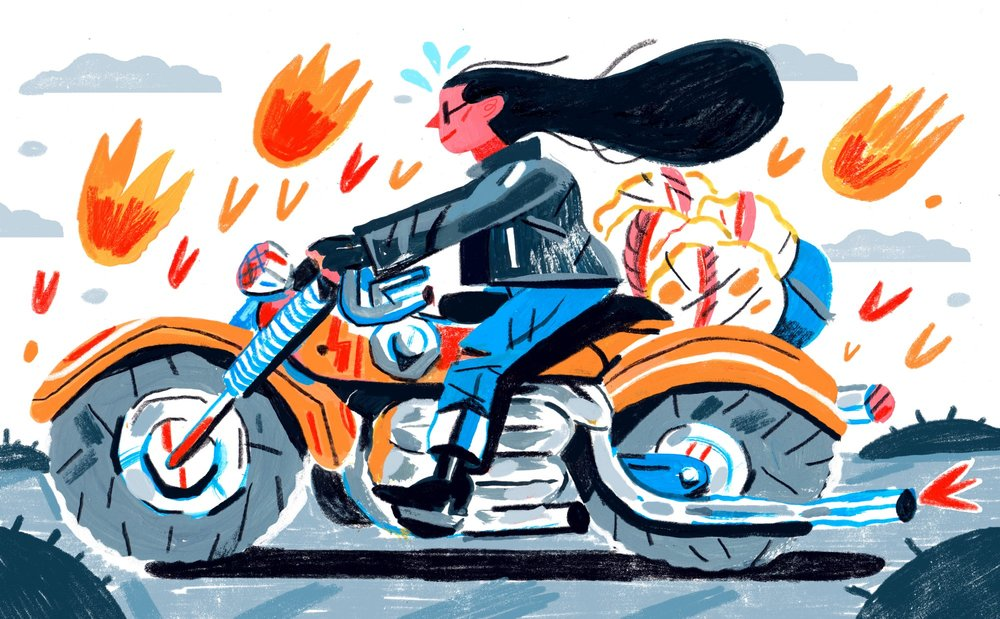 Illustrations by  Kelsey Wroten  for this article.