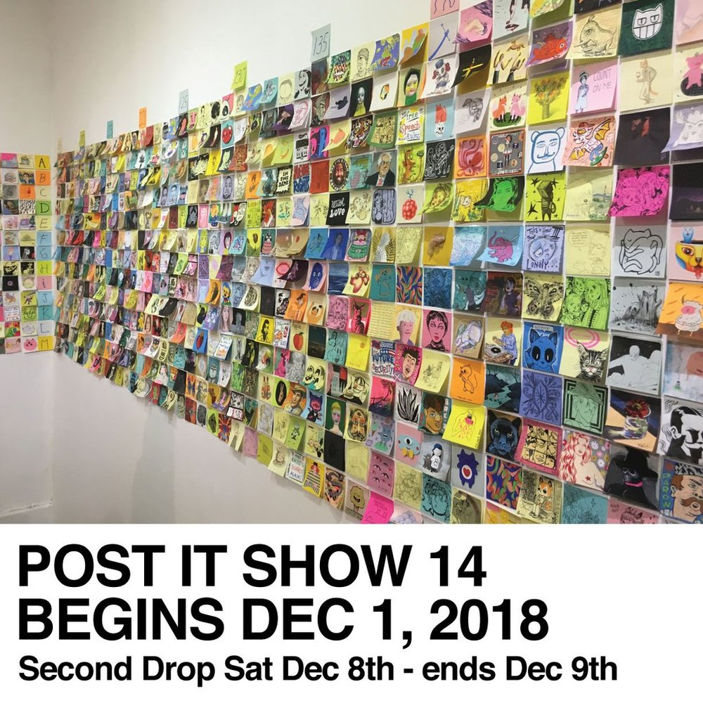 Post It Show 14: - 12/2/18-12/9/18