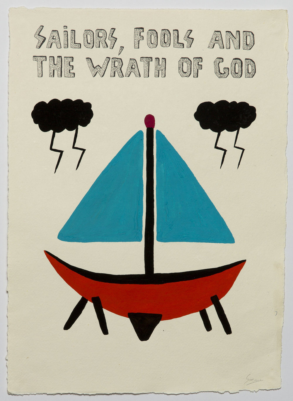 Sailors, Fools And The Wrath Of God