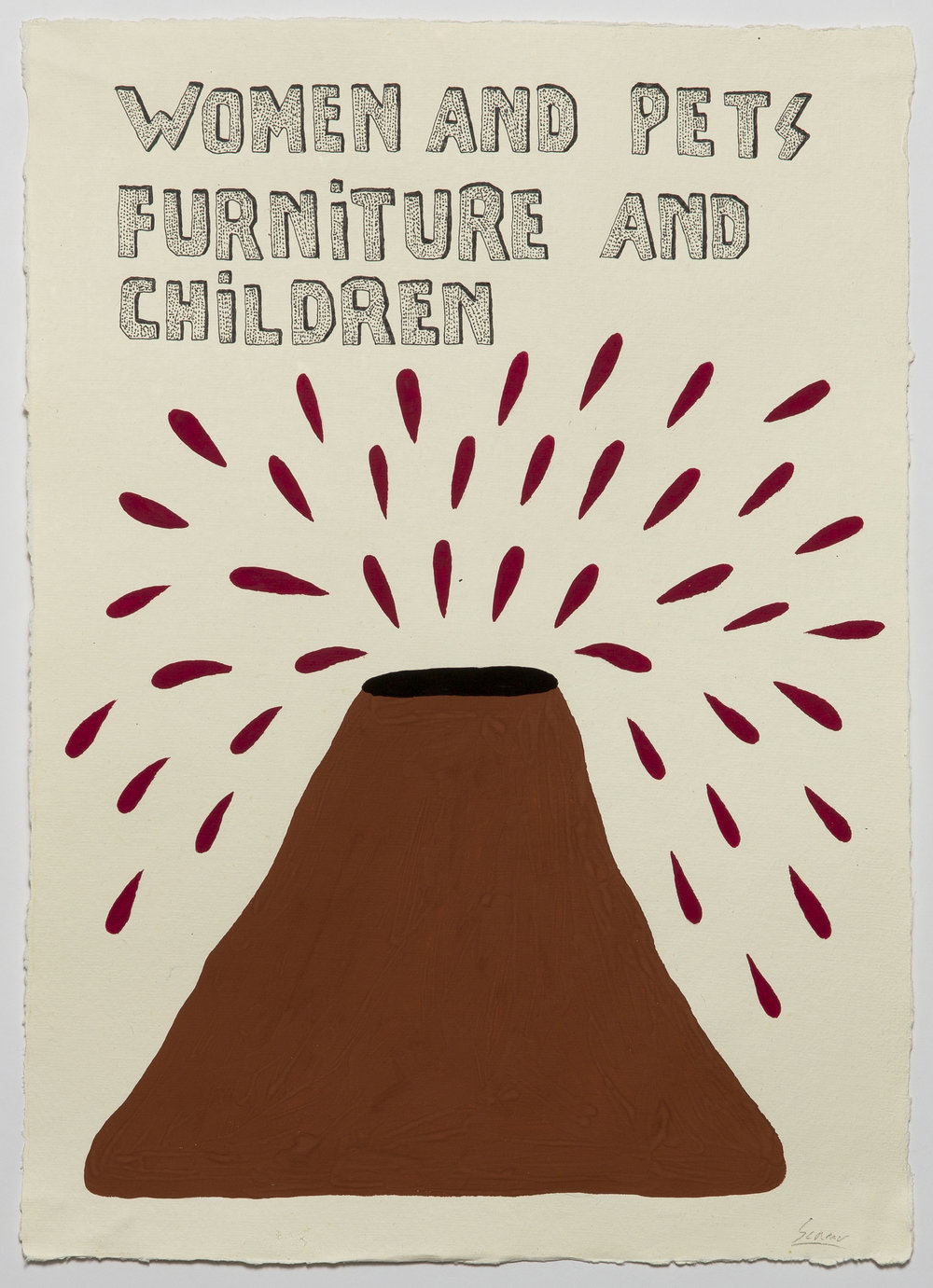 Women and Pets, Furniture and Children