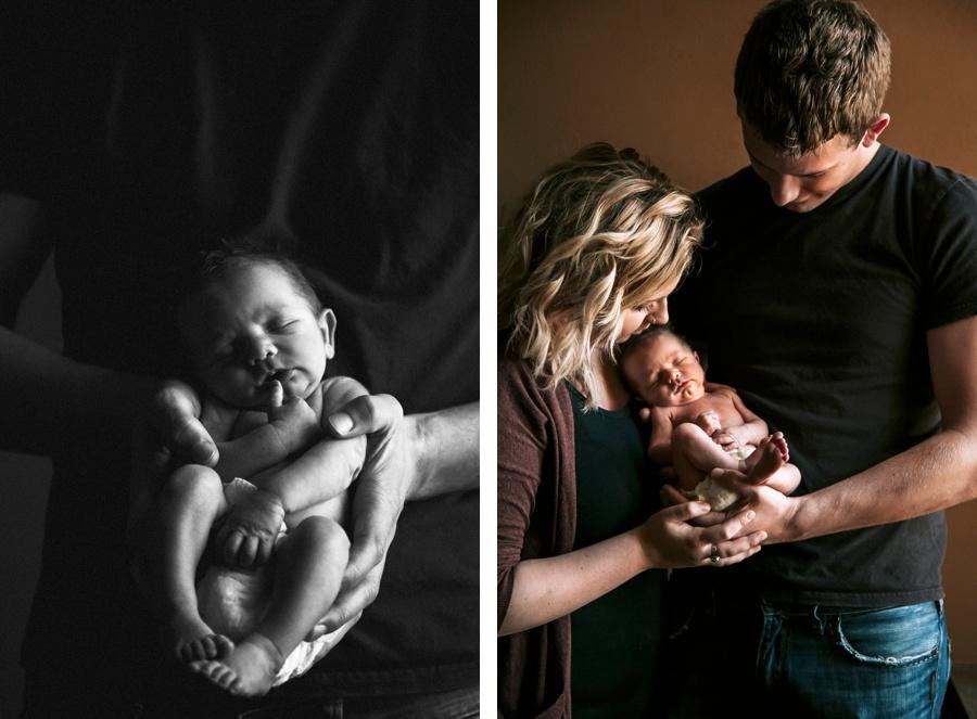 Baby Ezekiel Bekkering // The Bekkerings Newborn Session- Kandis Marino Photography©