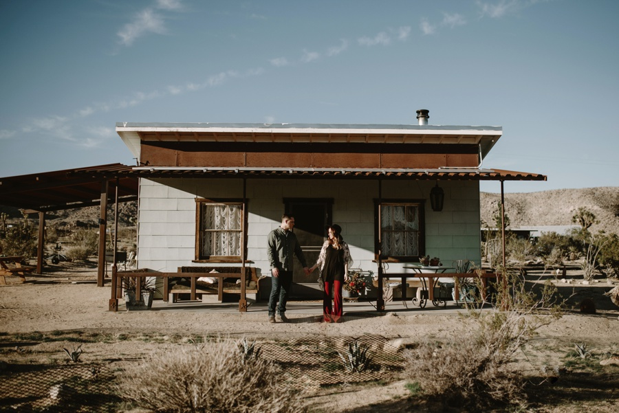 A Day In Joshua Tree // Kandis + Dan // Photos By: June Photography©