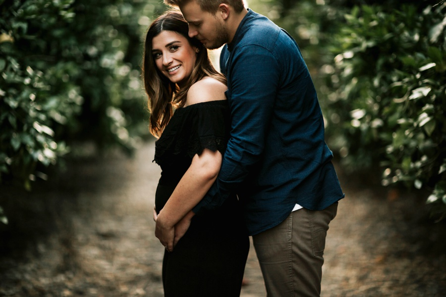 Collin + Jenni // Pregnancy Annoucement-Kandis Marino Photography©