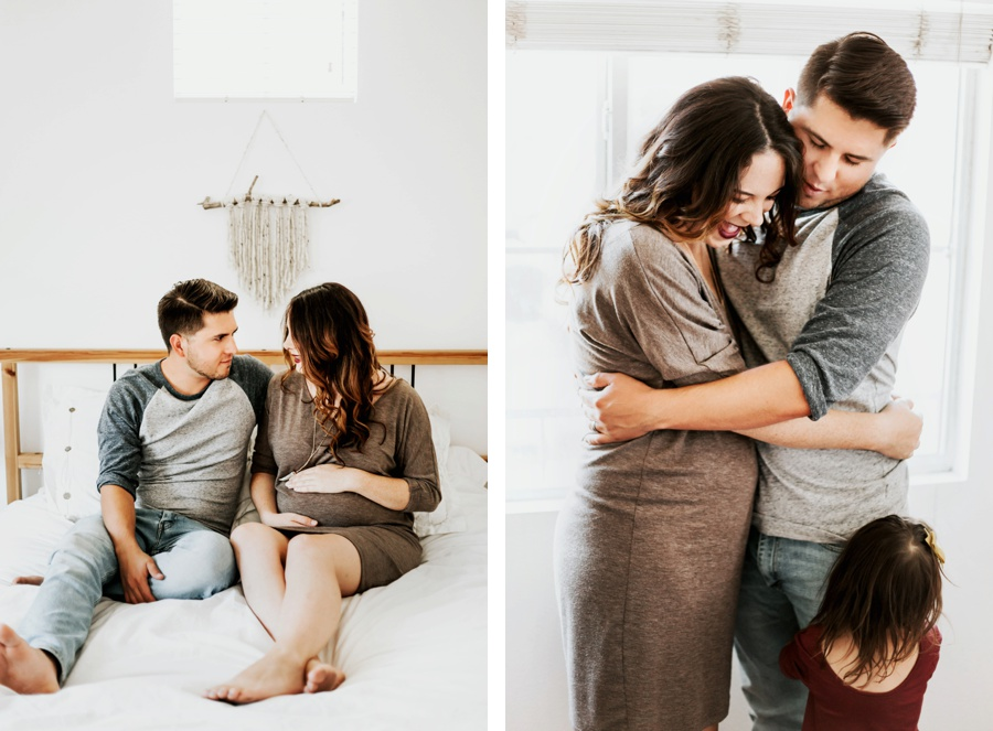 42cec755e7b38 The Vargas Family // In Home Maternity Session- Kandis Marino Photography©