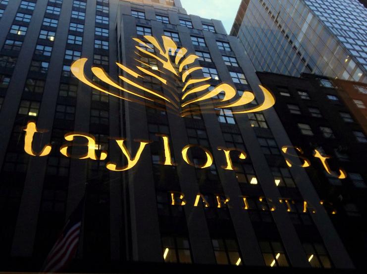 TAYLOR ST. BARISTAS  · loNDres y Nueva york · COFFEE SHOPS en LOCAlizaciones premium