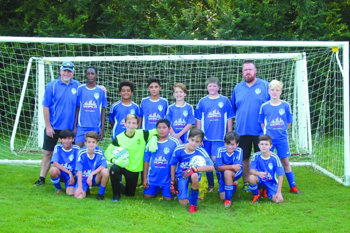 Since beginning operations in 2015, the Putnam Impact Soccer Club has featured several teams that have found much success over the years. Pictured here is Putnam Impact's U12 team after a successful showing at the RYSA Tournament.
