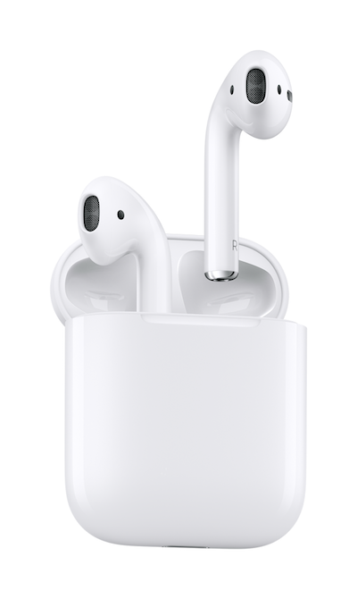 The new AirPods feature voice-activated Siri and a new wireless charging case! - Convenient to use with your iPhone, Apple Watch, iPad or Mac.