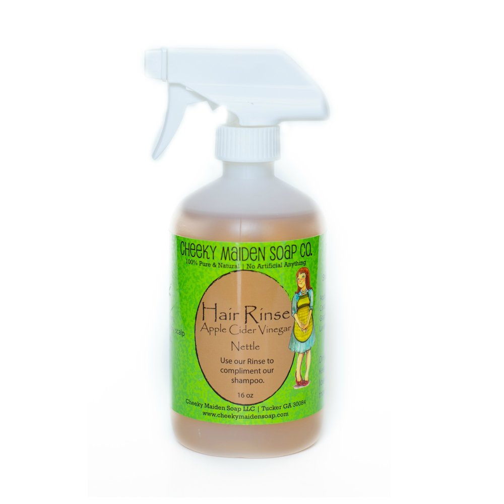 Nettle for rinsing hair