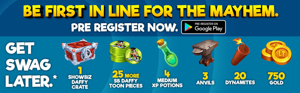 *Download the game and complete the tutorial on Android within 48 hours after commercial launch to get access to this swag.