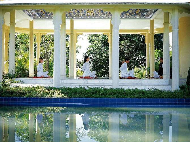 Ananda in the himalayas - Located in the foothills of the Himalayas, the birthplace of yoga and Ayurveda, Ananda integrates the traditional Indian wellness practices of Ayurveda, Yoga and Vedanta with the most outstanding of international wellness experiences. Another WT recommendation!
