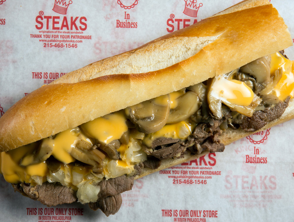 MUSHROOM  STEAK // CHEESESTEAK // PIZZA STEAK