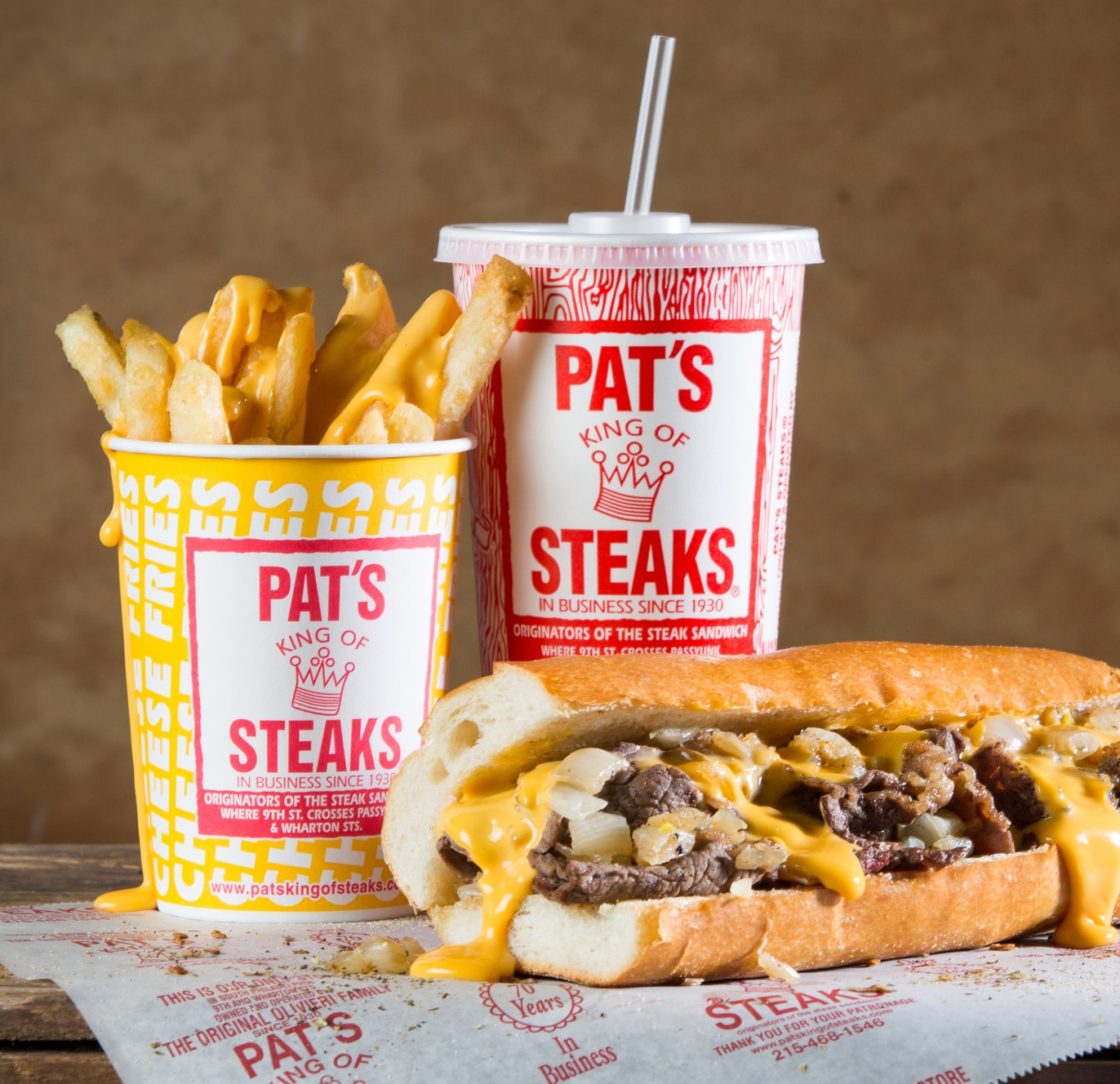 Pats King Of Steaks Since 1930