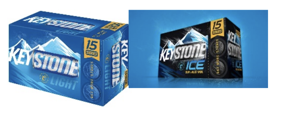 Keystone Ice /Keystone Light 15pk Cans $8.99 -