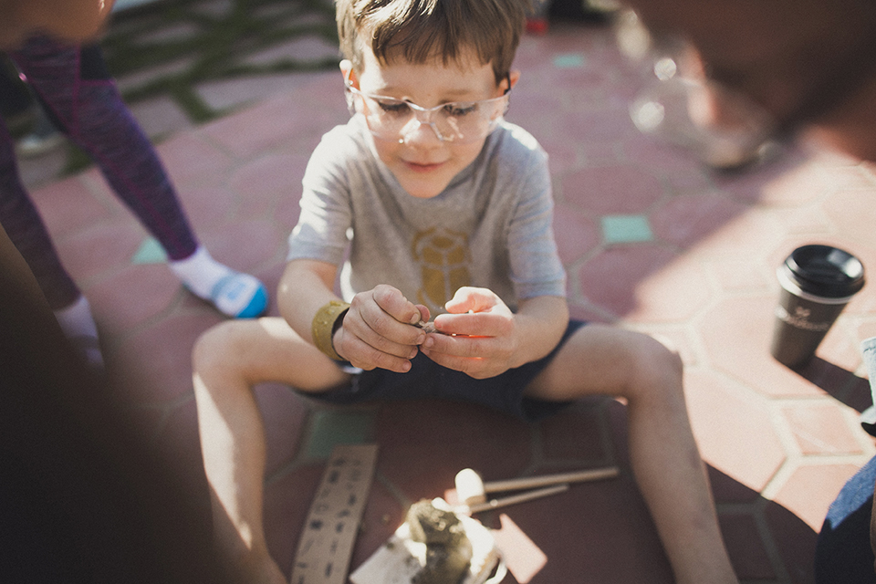 Noah's 6th Birthday - An Archaeology Party, Santa Monica