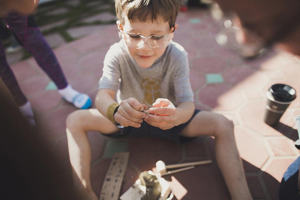 Noah's 6th Birthday - An Archaeology Party, Santa Monica