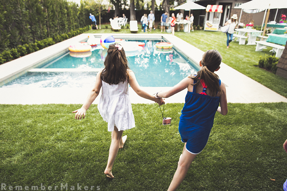 pool party photography los angeles santa monica