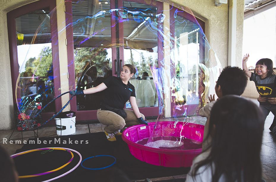 bubblemania kids party los angeles