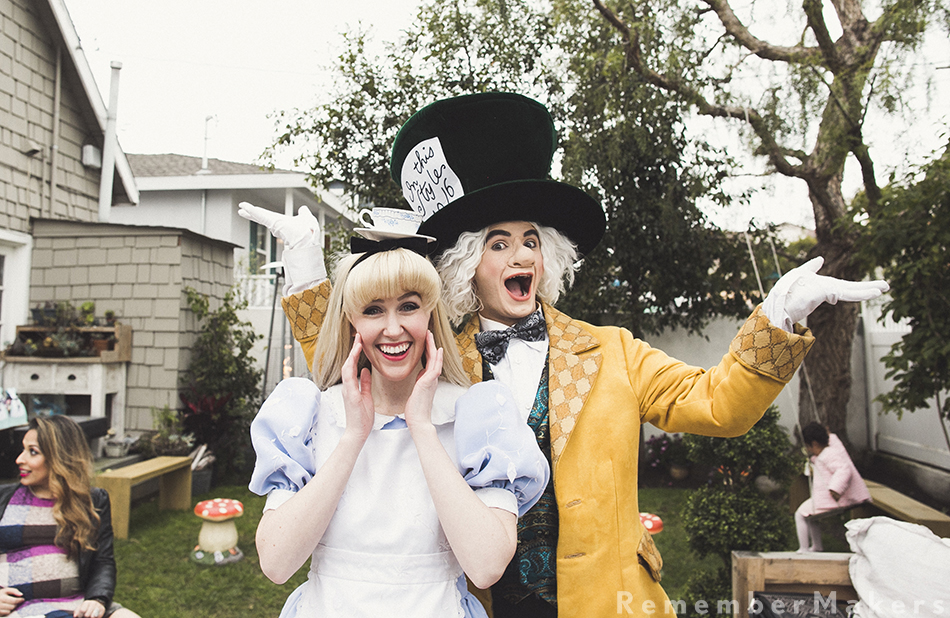 alice in wonderland birthday party south bay los angeles photography