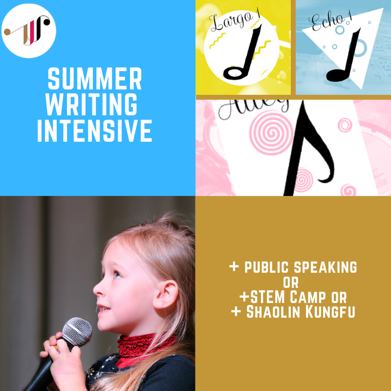 Summer Writing Intensive | Unit 3 | Aug 5 - Aug 16