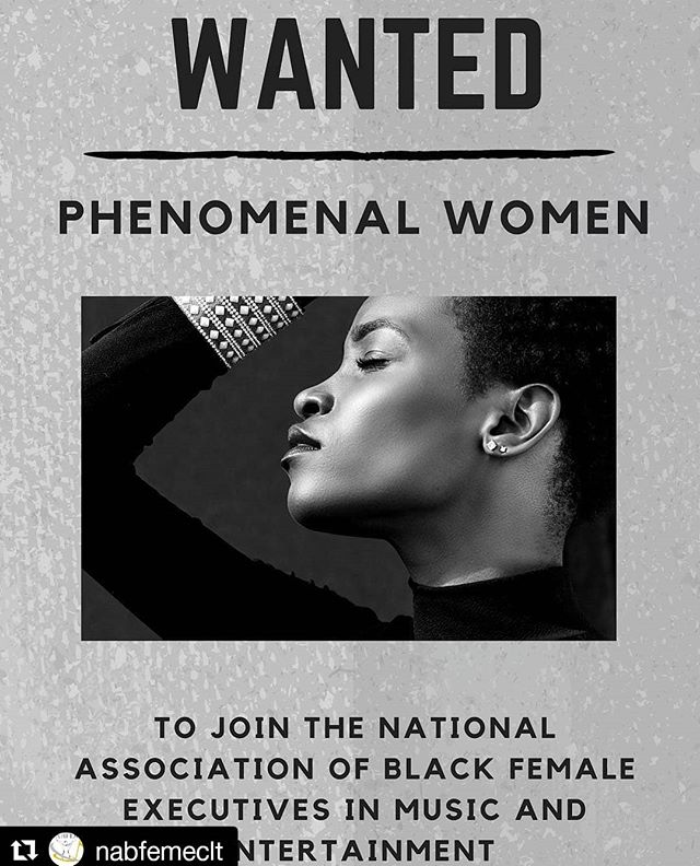 Are you a phenomenal woman? Are you interested in learning from and growing with a strong national/international network of women who work in music and entertainment? #NABFEME (@nabfeme) is for you. Join a fantastic sisterhood that is committed to lifting up and not tearing down. Our #NABFEME20 campaign allows you to join at  the discounted rate of $20 (annual dues are usually $100) in honor of our upcoming 20th anniversary in 2020. Visit the link in our bio for more info! Don't miss out, join today!  #womenempowerment #womeninentertainment #womeninmusic #musicexecutives #nabfemeclt #nabfemephilly #nabfemeatl #nabfemesf #nabfemedetroit #nabfemelosangeles #nabfemetoronto #nabfemeafrica #nabfemenashville #nabfemedmv #nabfemenyc #nabfemela #nabfemeboston #blackwomenrock #leadership #womensupportingwomen #blackwomenrock #NABFEMELadiesFirst #melaninqueen #womenofcolor #trustblackwomen #phenomenalwoman