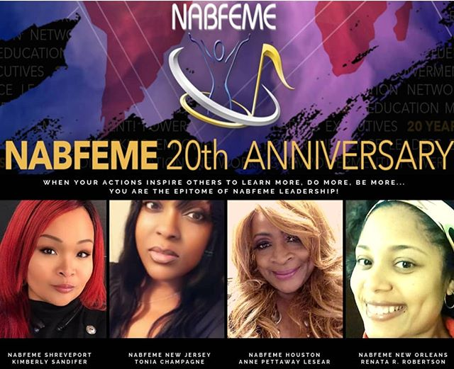 When your actions inspire others to learn more, do more,  be more... you are the epitome of NABFEME Leadership!  Celebrating 20 years of service.. Welcome to our new Network Leaders!! #blackgirlexcellence #neverstoplearning  #womenwholead  #bossladies #nabfeme20 #take20 #joinus Membership link in bio
