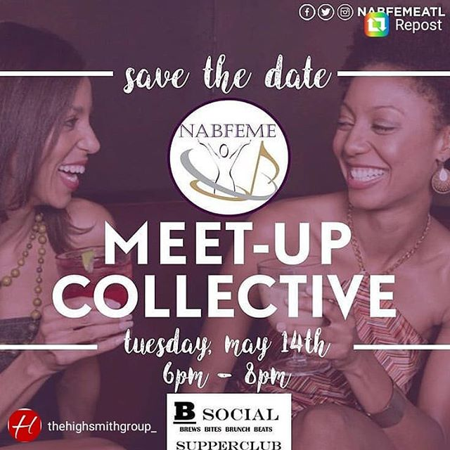 NABFEME Atlanta Meet Up! #powernetworking #afterwork #connect meet your #friends #colleagues Learn more about #nabfeme20 #take20 @nabfeme @nabfemeatl See ya there!