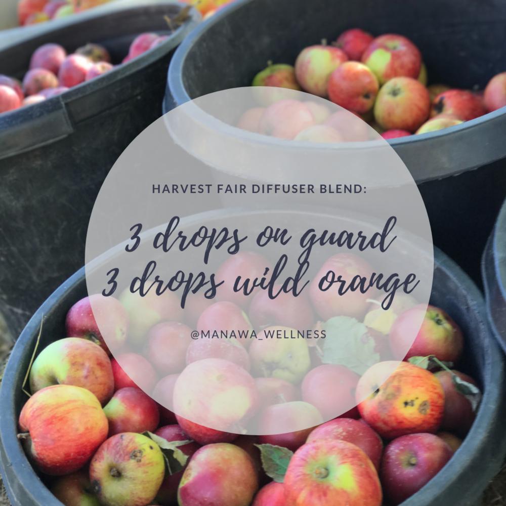 fall diffuser blend apples
