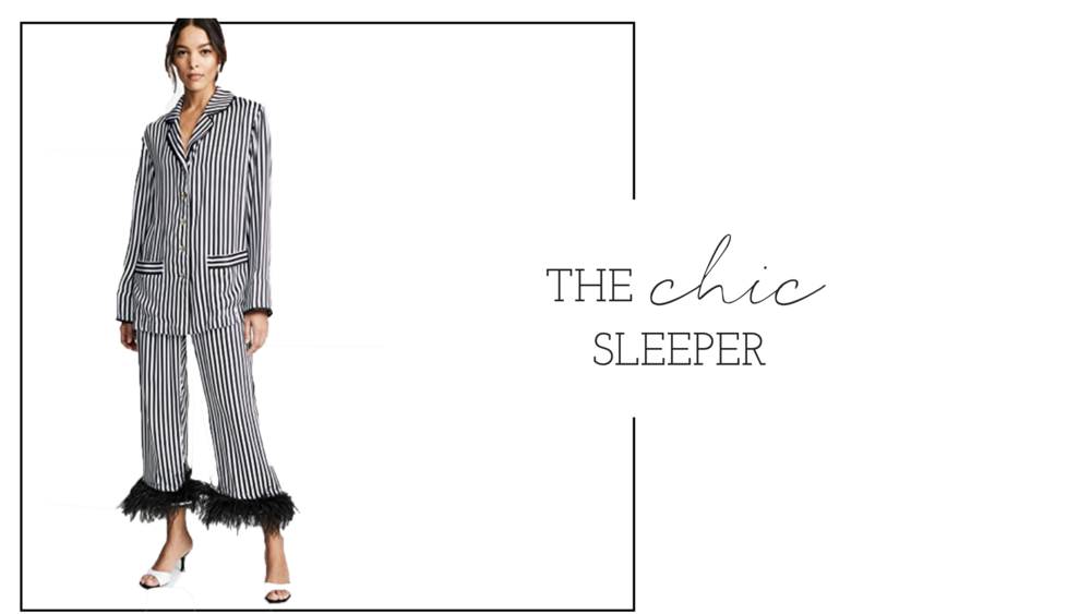 Super chic sleepwear ! For those who want to sleep in style and fabulous PJ's.