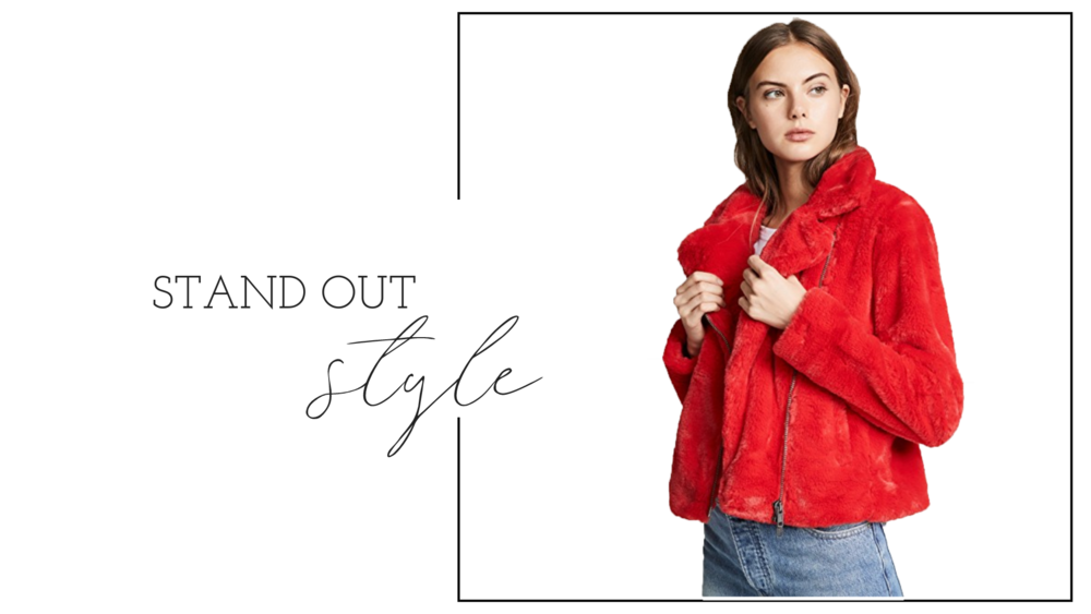 The extra details go the extra mile! Get the colors, styles and pieces that will stand out this winter.  Shop coats, bags, shoes, and everyday wear !