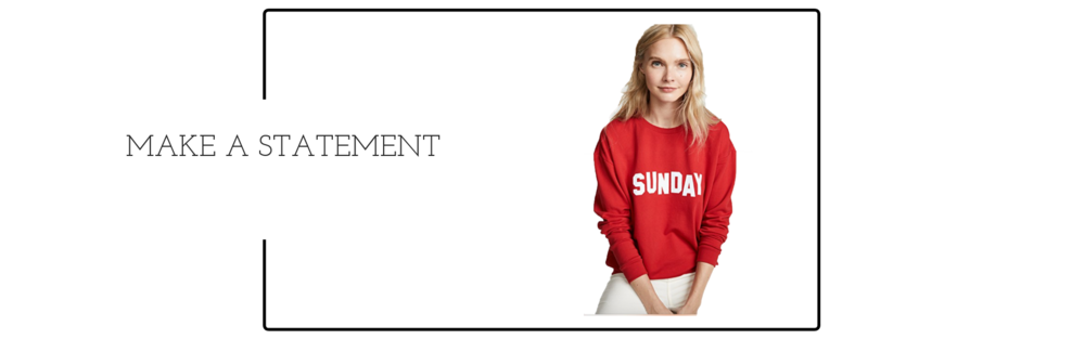 - Luxury loungewear and their new favorite sweatshirt!