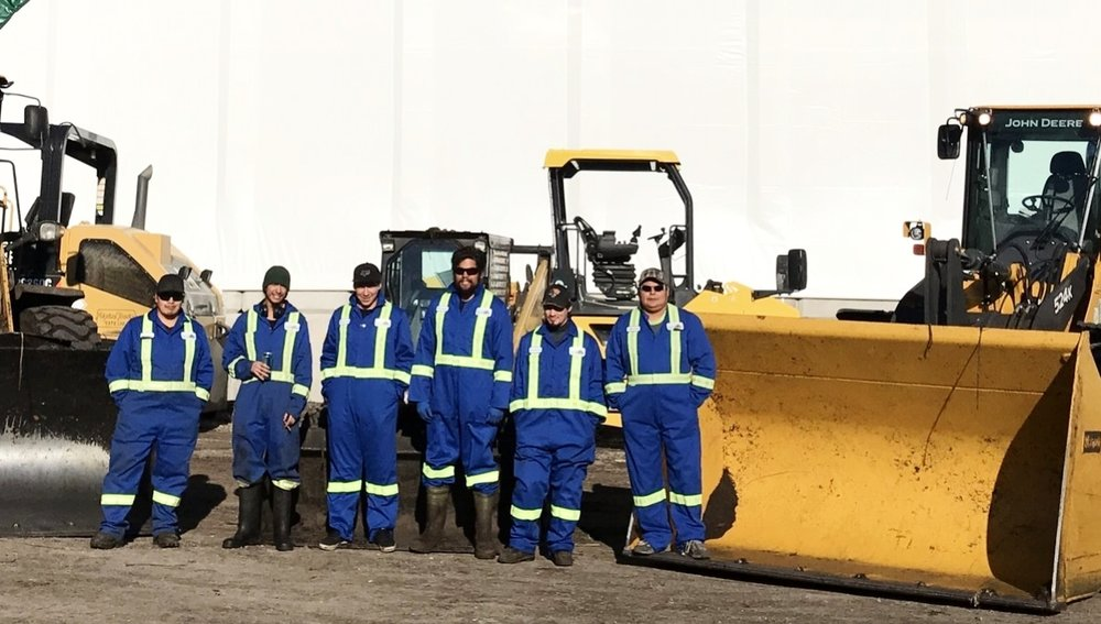 Meet the Crew - At Sea to Sky, we are proud to employ the majority of our staff from the Lil'wat Nation community. Come by and meet our great crew of operators while on site!