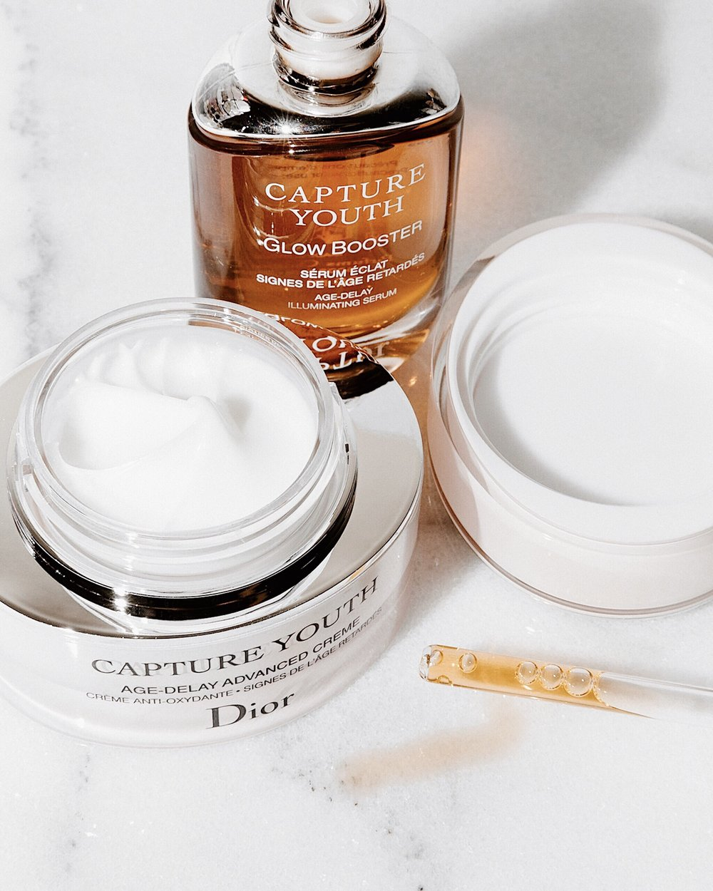 db39ff72507 REVIEW  DIOR CAPTURE YOUTH GLOW BOOSTER + AGE DELAY CREME — LAURA C ...