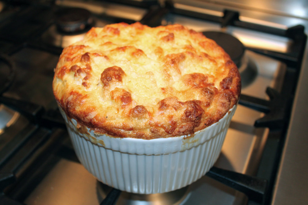 Make a cheese souffle in honor of Julia Child