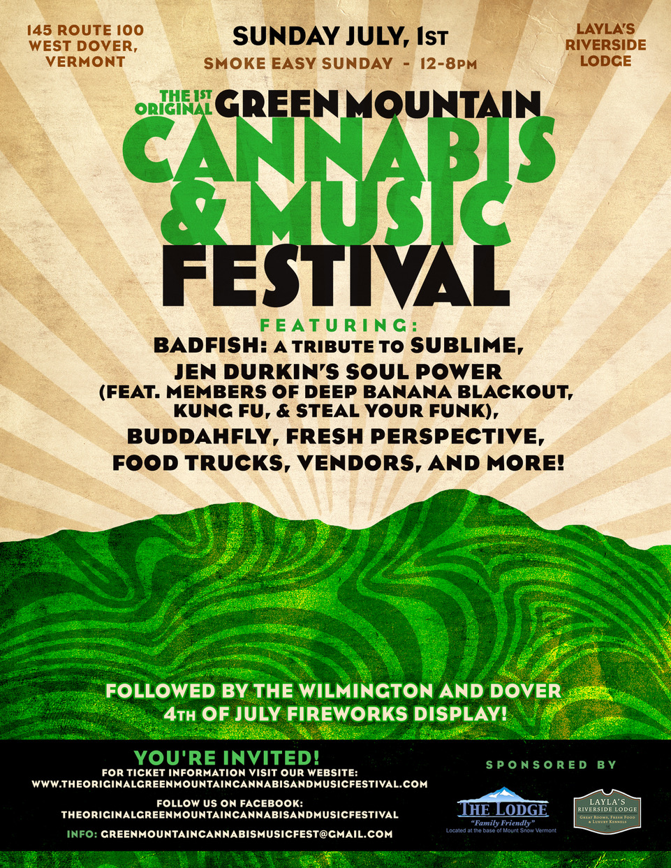 The Original Green Mountain Cannabis and Music Festival